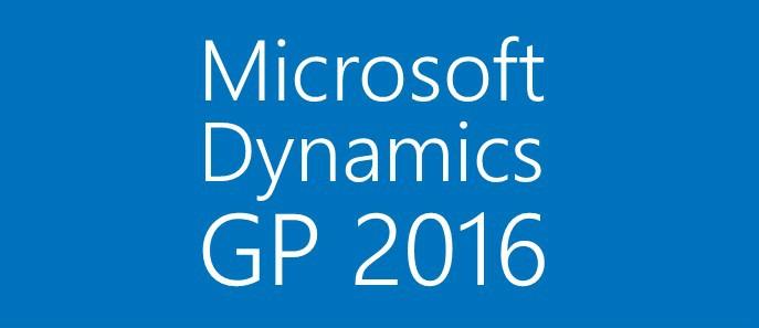 Why Microsoft Dynamics GP 2016?