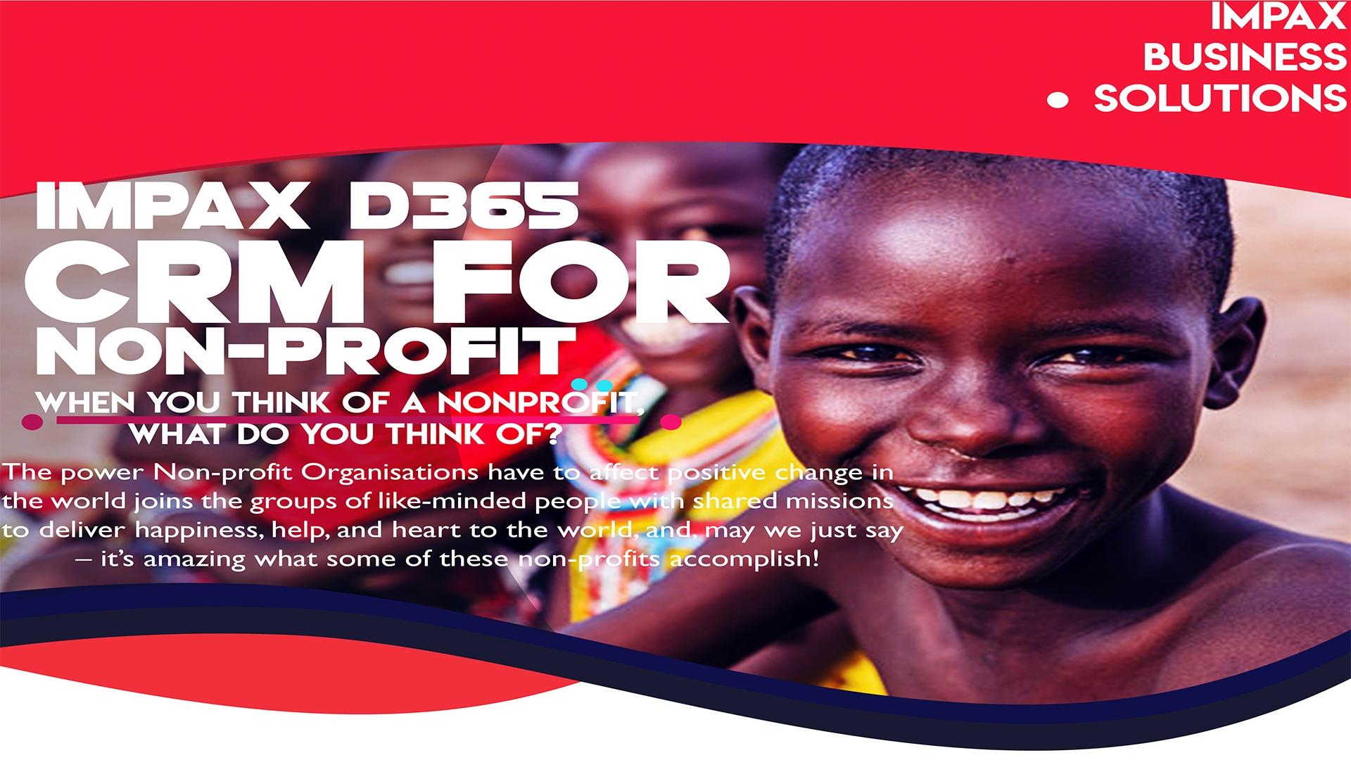 Impax Dynamics 365 CRM for Nonprofits Organizations