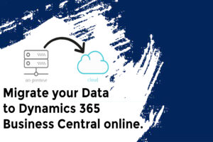 Migrating your data to Dynamics 365 Business Central online
